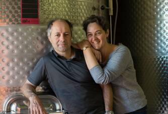 Au chai du Domaine Anne Gros & Jean Paul Tollot