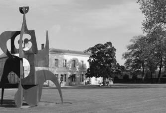 Sculpture du Domaine Rollan de By