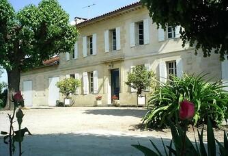 Entrée du Château Fourcaud