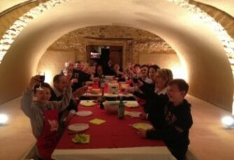Repas de Fête au Domaine Brossette