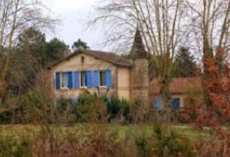 Entrée du Château Mascard