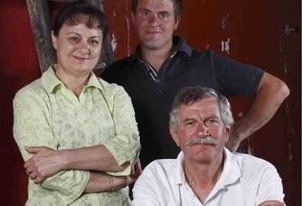 La famille Bruneau du Domaine Damien Bruneau