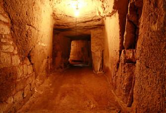 La cave du  Château de Parnay