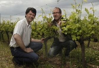 Alain ROTIER et Francis MARRE du Domaine Rotier