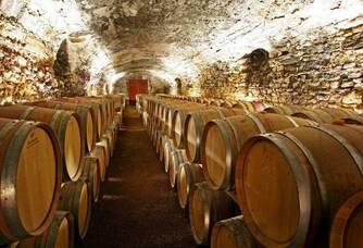 La cave du Château de Luc