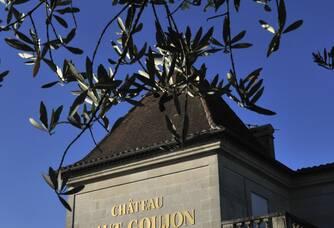 Le fronton du Château Haut-Goujon