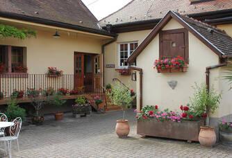La cour intérieure de la boutique Schwach