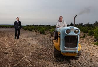 André et Fabrice Brunel, vignerons du Domaine Les Cailloux