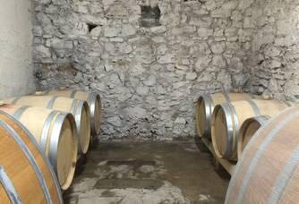 La cave du Domaine Mandourelle
