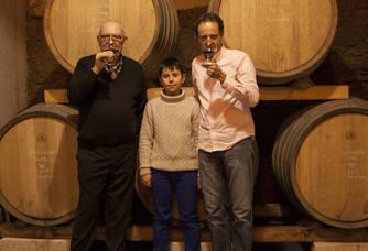 Trois générations du domaine Albin Jacumin